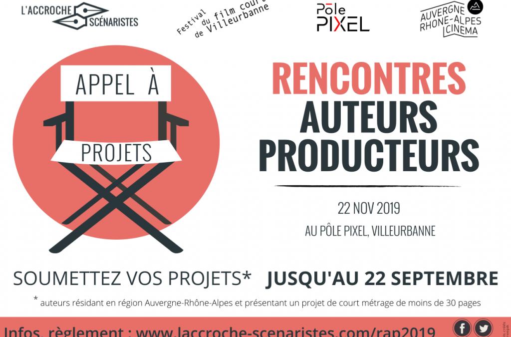 Appel à projets Accroche-scénaristes 22 septembre 2019